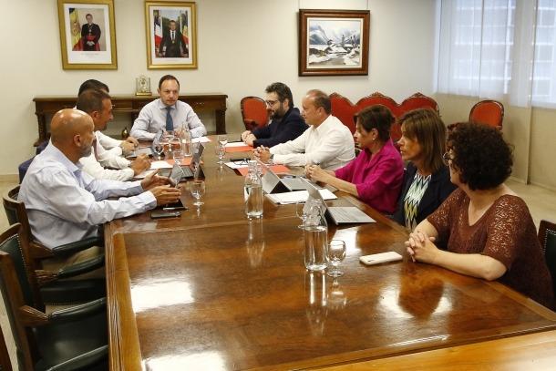 Una reunió del consell de ministres.