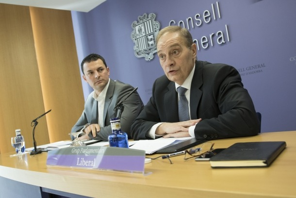 """LdA lamenta la """"subordinació total"""" d'Andorra davant la Unió Europea"""