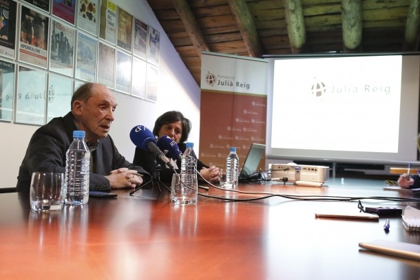 Òscar Ribas va fer les declaracions al Museu del Tabac.