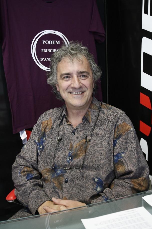 El líder de Podem Andorra, Joan Seguí.