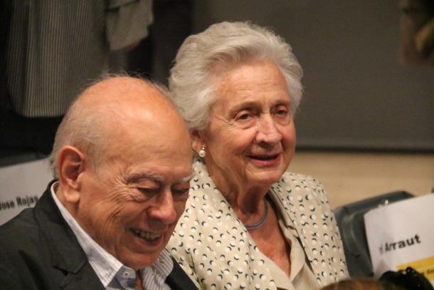 Jordi Pujol i Marta Ferrusola.