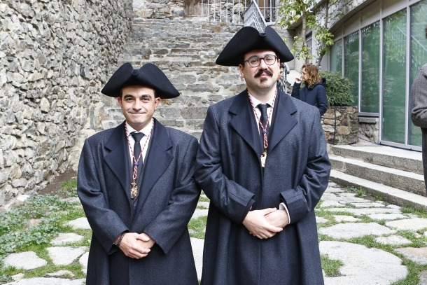 Els nous consellers generals Oliver Alís i Carles Sánchez.
