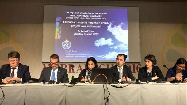 Andorra lidera un acte per tractar del canvi climàtic en zones de muntanya