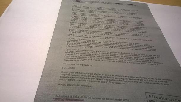 La fiscalia rep una denúncia per la cotització dels plans de pensions dels treballadors de BPA