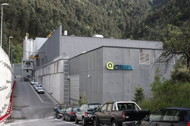 La planta de la Comella incinera 14.157 tones de residus fins a l'abril