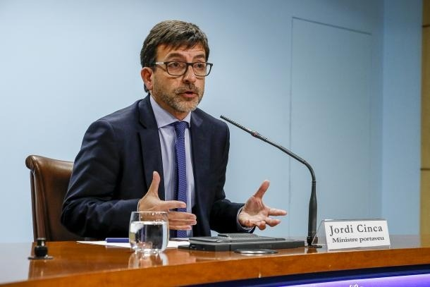 Una compareixença anterior de Jordi Cinca.