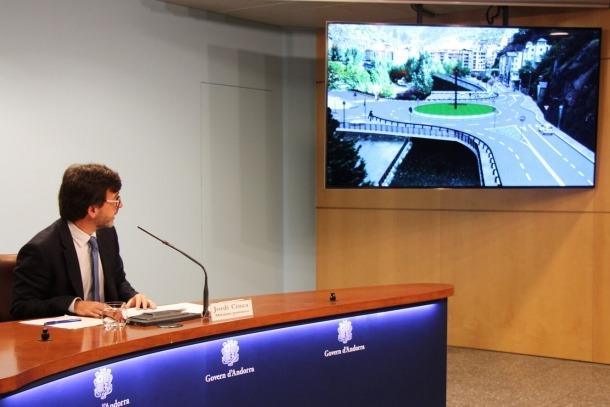 Adjudicada la rotodona del pont de Fontaneda de la variant laurediana