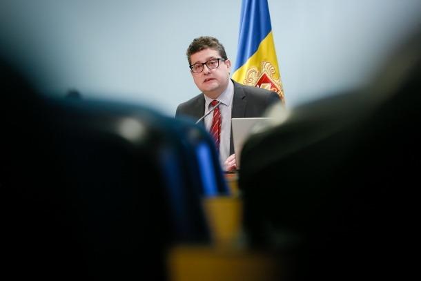Carles Fiñana és el cap de la Unitat d'Intel·ligència Financeera d'Andorra.