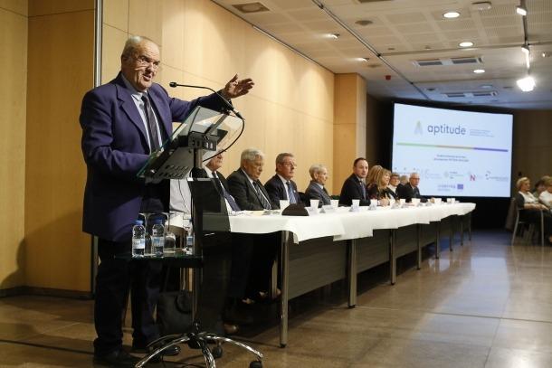 L'assemblea de la Federació d'Associacions de Gent Gran va tenir lloc la sala Consòrcia del Centre de Congressos de la capital.