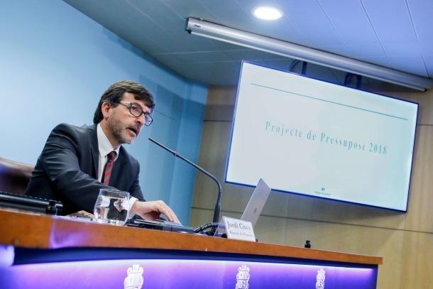 Cinca defensa un pressupost ajustat i que recull la millora de l'economia
