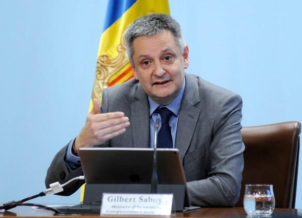 El ministre d'Economia, Competitivitat i Innovació, Gilbert Saboya, va fer un balanç dels indicadors del 2017.