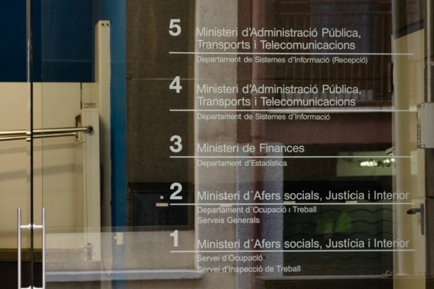 Edifici de les Boïgues, on es troba el departament d'Estadística.