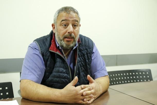 El president del Sindicat de Personal Adscrit a l'Administració General, Lluís Anguita.