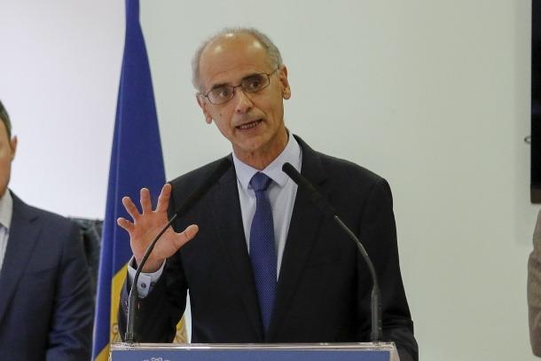 Antoni Martí va fer les declaracions sobre el pressupost de l'any vinent en l'acte de celebració del dia de Meritxell al Cedre.