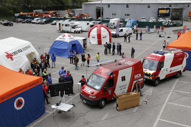 Protecció Civil és el departament que coordina els mitjans materials i humans en cas d'emergències.