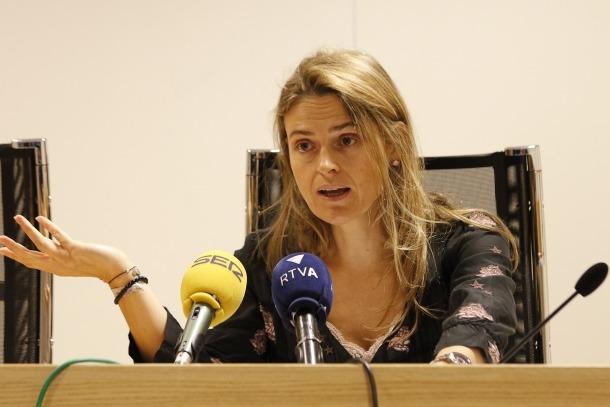 Sophie Bellocq és la deganda del Col·legi d'Advocats.
