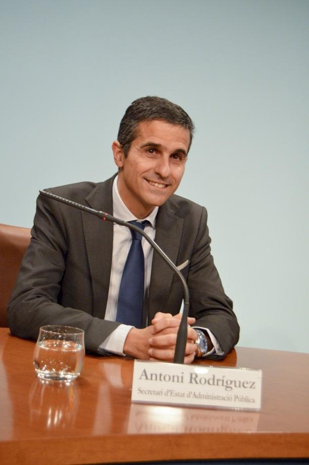 Antoni Rodríguez rellevarà Joan Blasi a Funció Pública