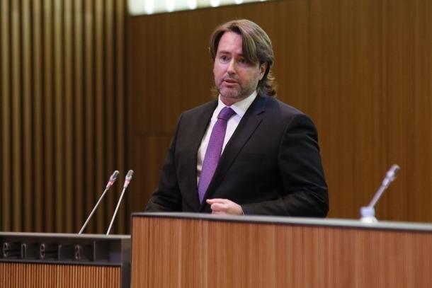El parlamentari d'UL-ILM Carles Naudi.