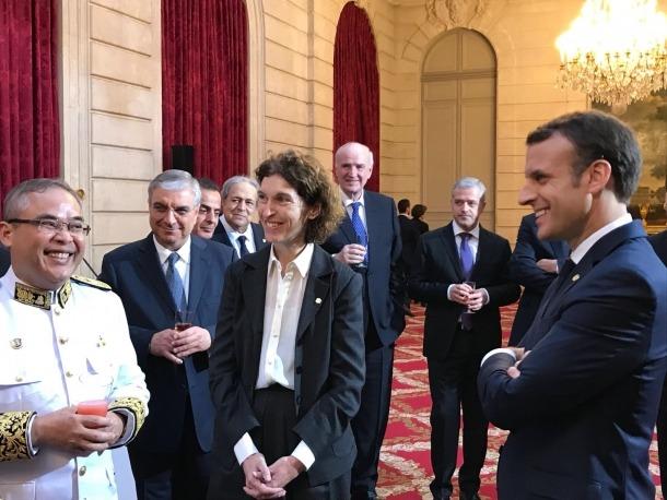 Macron destaca l'estratègia de reformes fetes per Andorra
