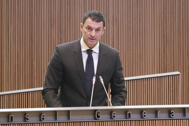 El president del grup liberal, Jordi Gallardo.