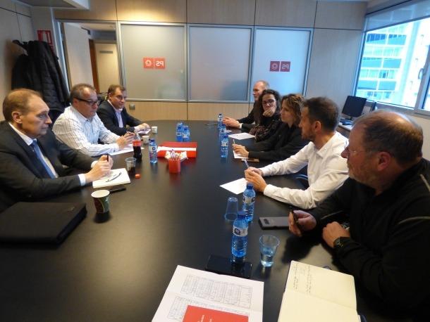 Els consellers generals electes del PS es van reunir amb els de Terceravia.