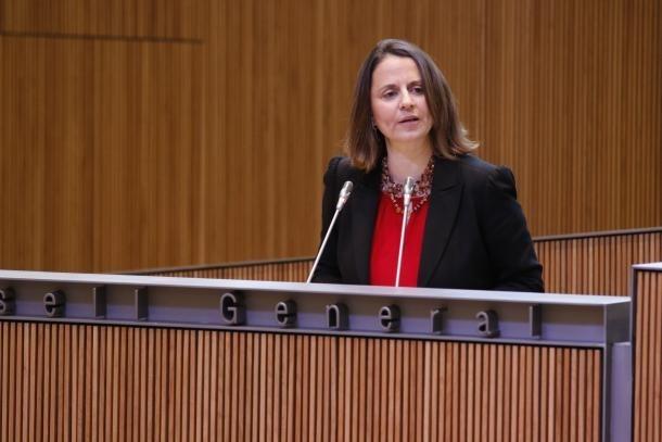 La consellera general del PS, Rosa Gili.