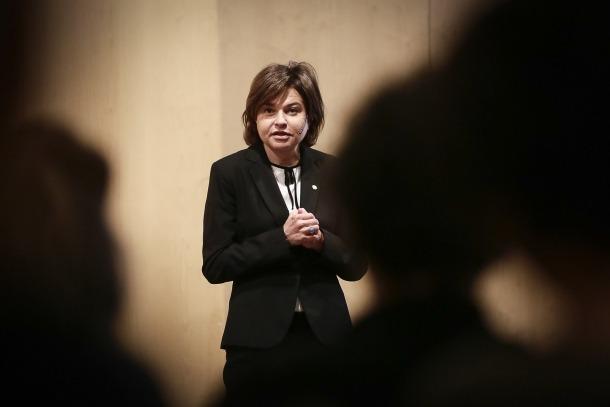 La ministra de Turisme, Verònica Canals.