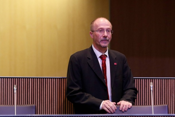 El parlamentari de SDP, Víctor Naudi.