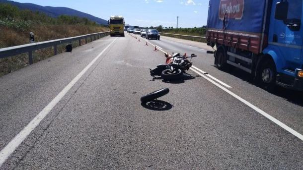 Un jove motorista andorrà mor en un accident a l'N-340 a Castelló