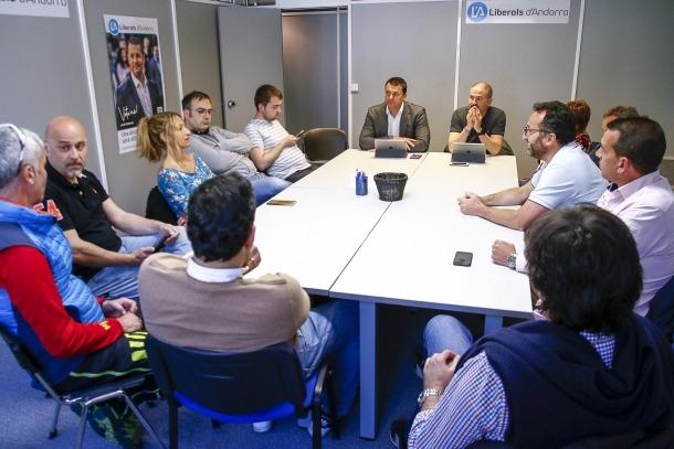 L'executiva de Liberals d'Andorra es va reunir ahir per validar l'acord assolit amb Demòcrates.