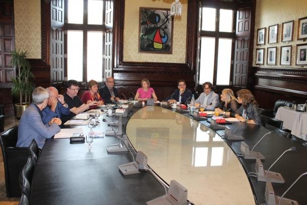 El Parlament català es querellarà contra els 'no compareixents' davant la CIOC