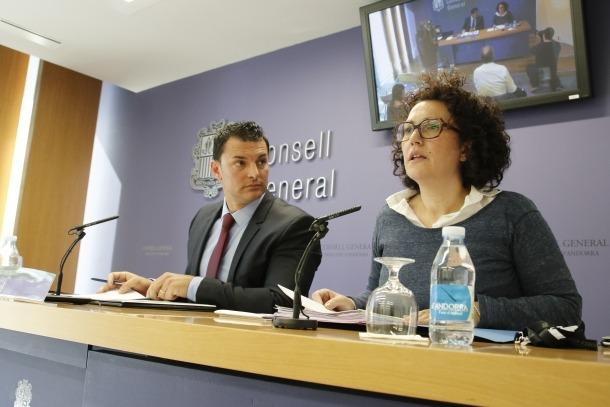 LdA esmena el text de la justícia per reforçar la separació de poders Jordi Gallardo Judith Pallarés