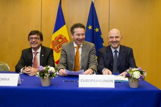 Ratificació de l'acord d'intercanvi d'informació fiscal amb la UE