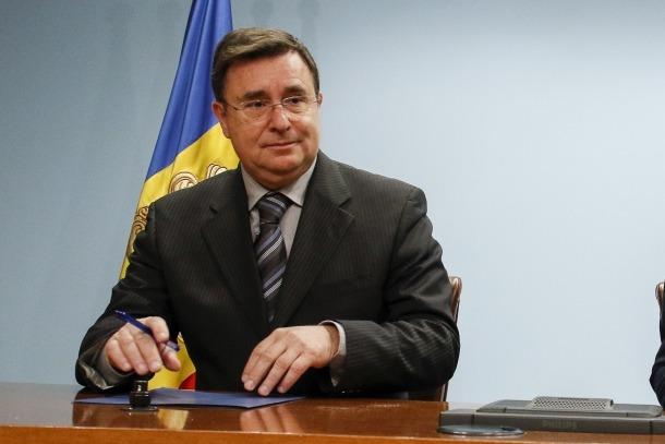 El president de la comissió gestora del Fons de Reserva de Jubilació, Josep Delgado.