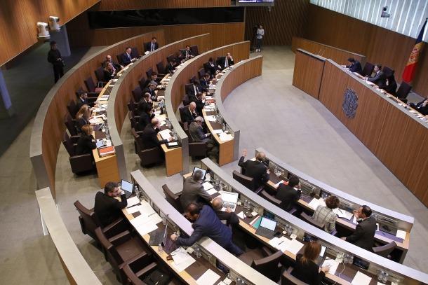 Una sessió del Consell General de la passada legislatura.