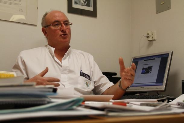 El doctor Josep Gómez deixarà de ser coordinador d'Urgències el mes que ve.