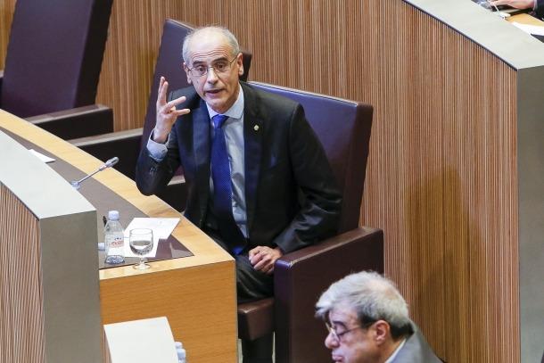 El cap de Govern, Antoni Martí.