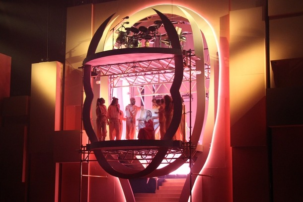 Una de les actuacions del Cirque du Soleil al Principat.
