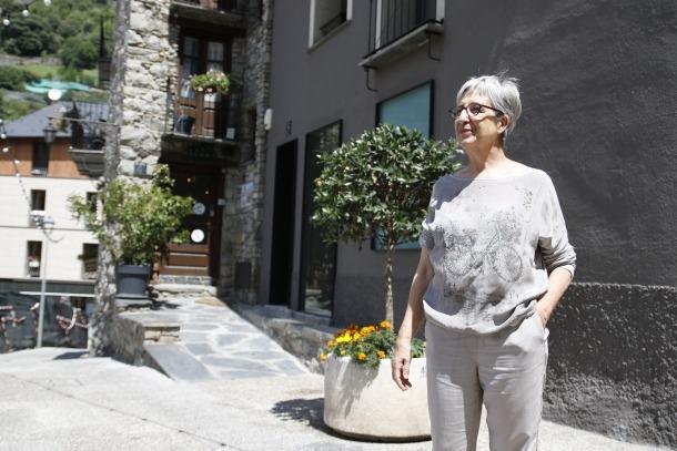 """Anna Riberaygua: """"El centre històric ha de ser un lloc on els trets diferencials es potenciïn"""""""