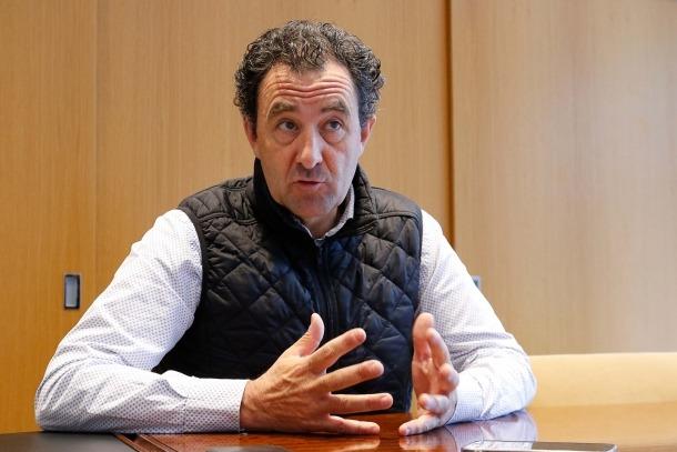 El secretari general de l'Automòbil Club d'Andorra, Antoni Sasplugas.