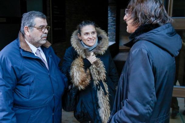 L'advocat Jean Michel Rascagneres representa una part dels accionistes minoritaris i Sophie Bellocq, uns clients preferentistes.