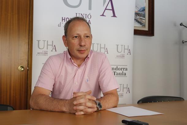 El president de la UHA, Carles Ramos.