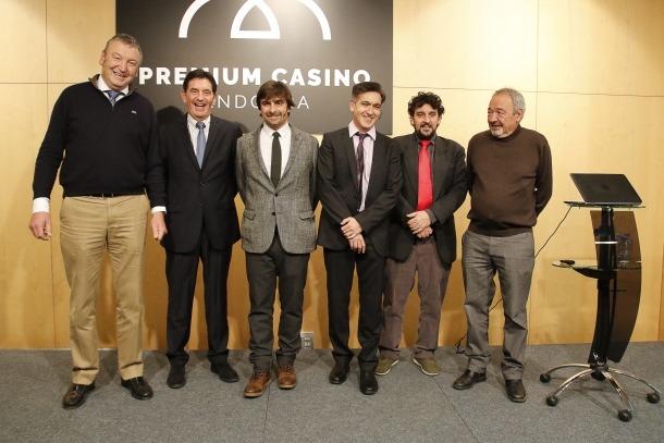 Els responsables del projecte impulsat per la societat Lleure 3D i el Groupe Barrière.