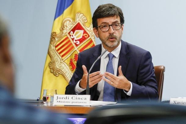 El ministre portaveu, Jordi Cinca.