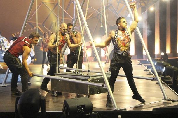 Un dels espectacles del Cirque du Soleil.