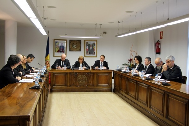 Un consell de Comú d'Escaldes-Engordany anterior.