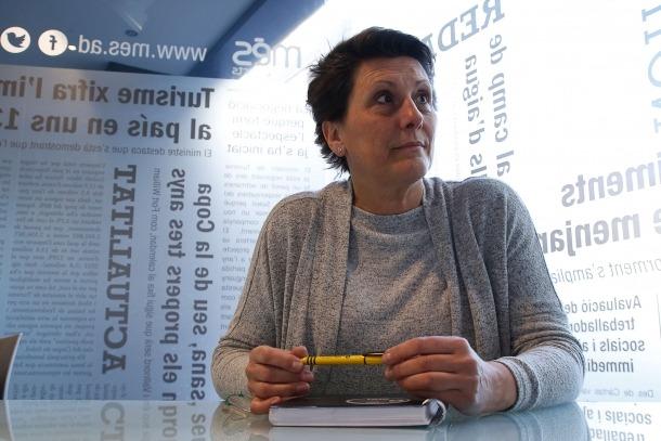 La nova presidenta del Sitca, Emi Matarrodona.