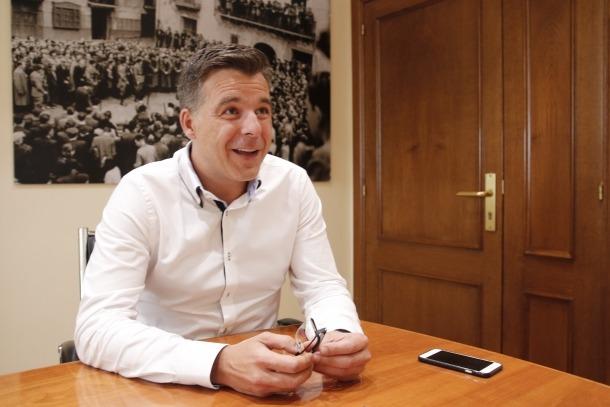 """Marc Pons: """"No estem llençant diners; reclamem que som la capital i volem fer-la lluir"""""""