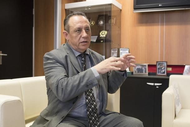El director de la policia, Jordi Moreno.