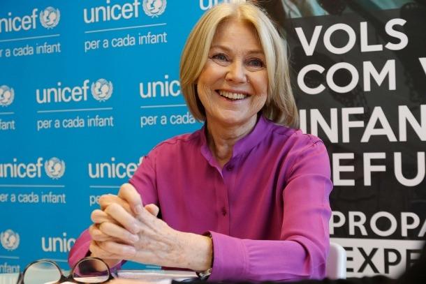 La presidenta d'Unicef Andorra, Laura Álvarez.